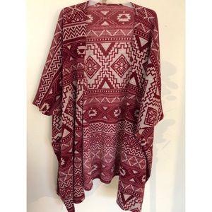 Seminole Print Kimono
